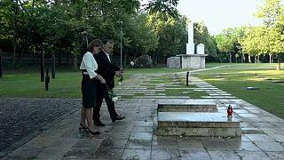 Homenaje a una figura histórica de la política húngara