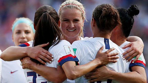 Fußball-WM: Die USA wieder in Torlaune