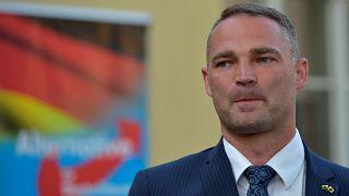 Sebastian Wippel, candidato del AfD