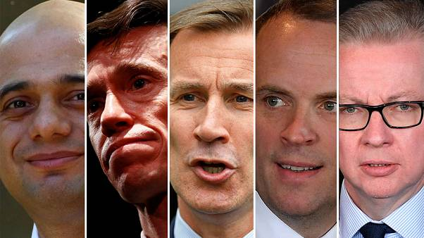 'Where is Boris?' Five of six Tory candidates face off in debate