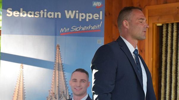 Ο Σεμπάστιαν Βίτελ, υποψήφιος του AfD που δεν εξελέγη δήμαρχος.
