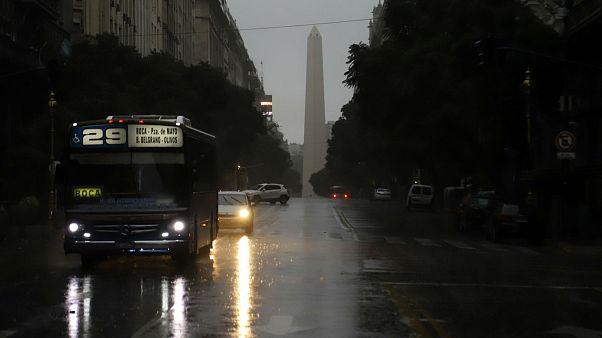 Arjantin'de elektrik kesintisi