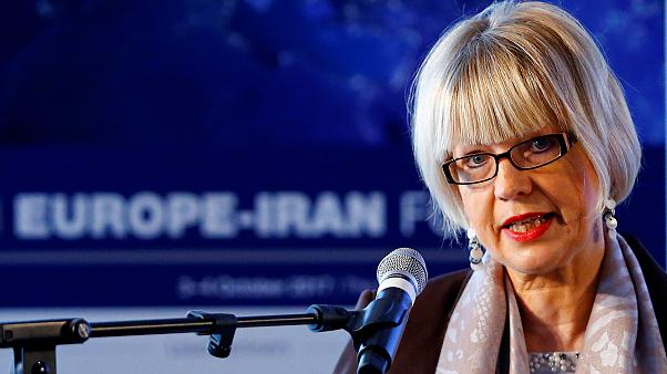 مسؤولة كبيرة بالاتحاد الأوروبي تؤكد الدعم للاتفاق النووي المبرم بين القوى العالمية وإيران
