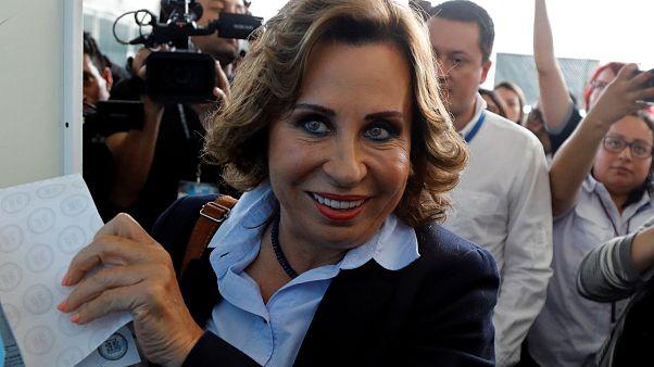 Sandra Torres en tête du premier tour de la présidentielle au Guatemala