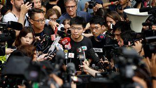 Hong Kong libera al líder de la Revolución de los Paraguas