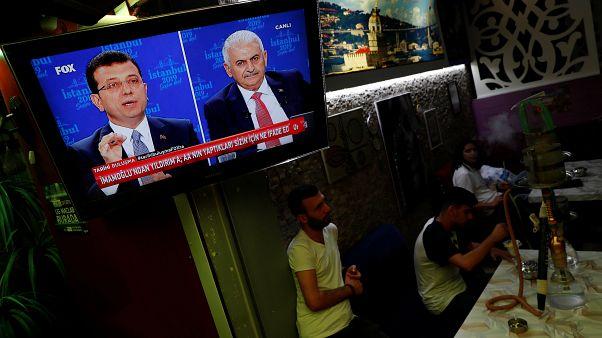 Erstes TV-Duell seit 2002: Kandidaten kämpfen um Istanbul