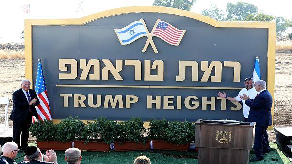 بلندیهای ترامپ؛ نام گذاری یکی از شهرکهای اسرائیل به نام رئیس جمهور آمریکا