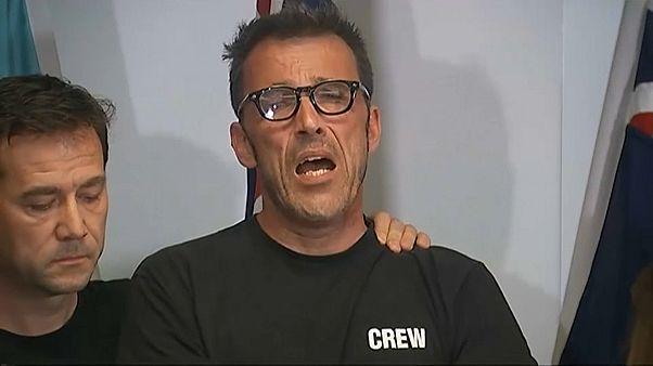 والد رحالة بلجيكي فقد في أستراليا خلال انعقاد مؤتمر صحفي