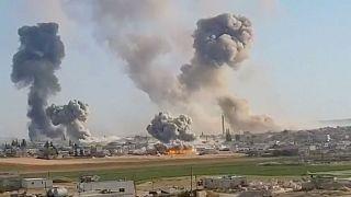 دولت سوریه: ۱۲ غیرنظامی در حمله اسلامگرایان کشته شدند