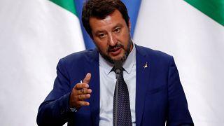 Italian Deputy Prime Minister Matteo Salvini
