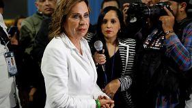 Sandra Torres vence primeira volta das presidenciais