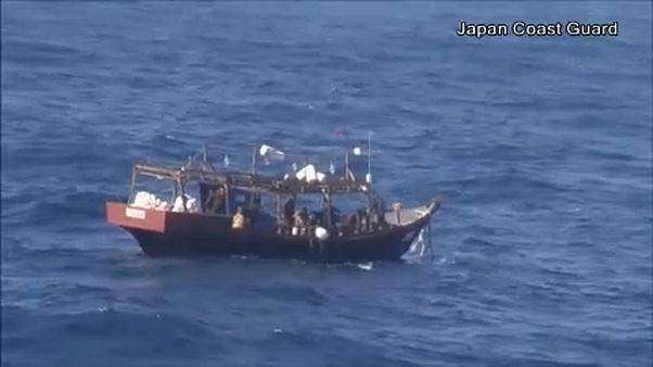 Illegális észak-koreai halászok tűntek fel Japán vizein