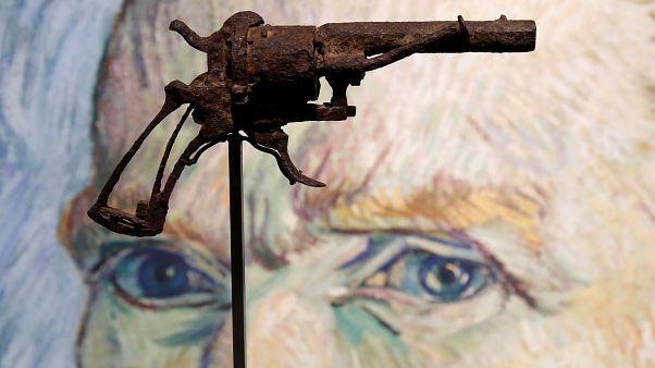 Revolver Van Goghs versteigert