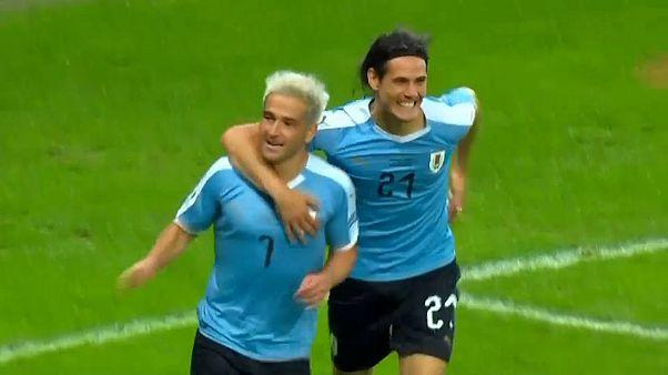 Copa America: l'Uruguay cala il poker, abbattuto l'Ecuador