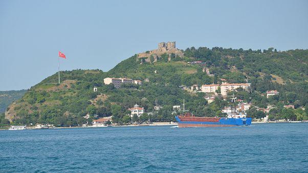 مضيق البوسفور في تركيا