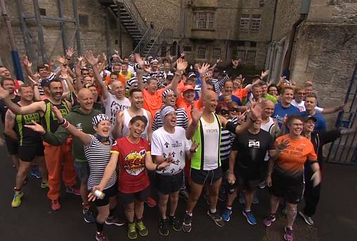 Convicts quick on their feet in world's first ever prison marathon