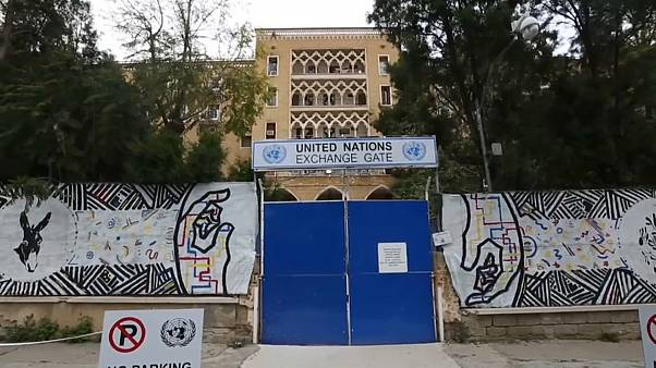 The Ledra Palace Hotel has been home to UN peacekeepers since 1974