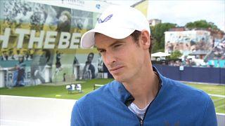 Andy Murray de retour sur le circuit