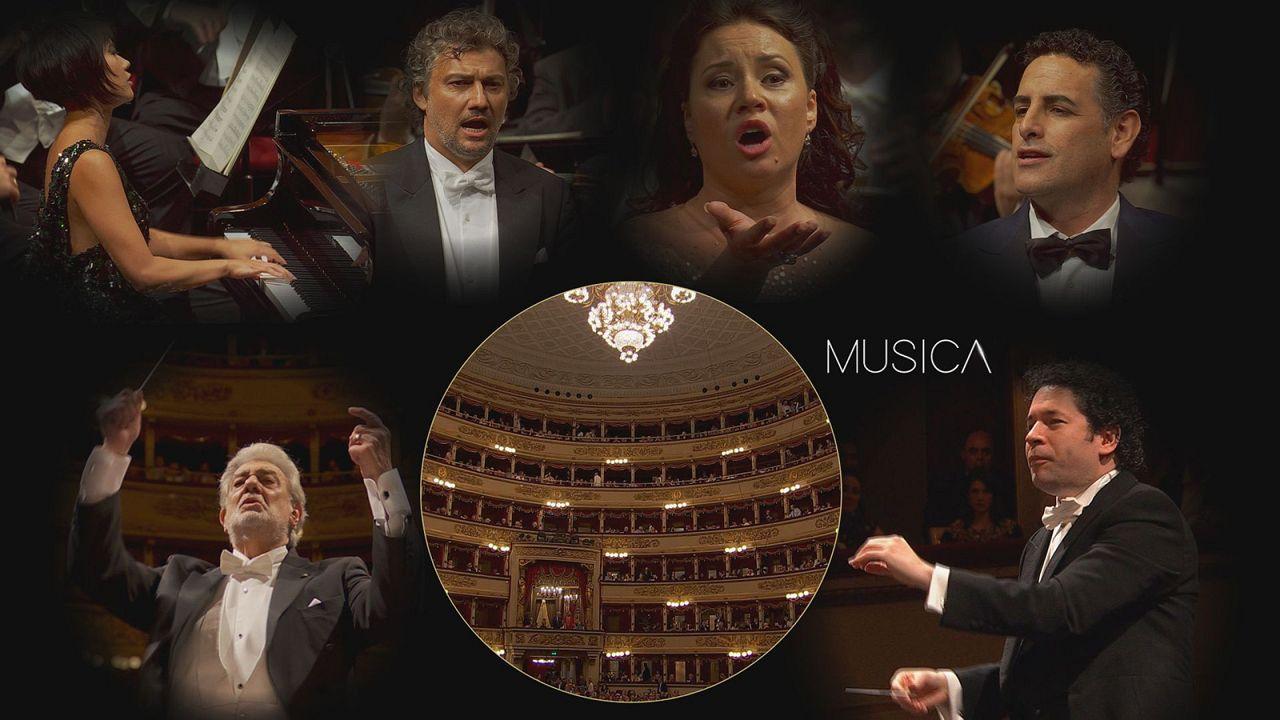 La Scala'da özel gala: Klasik müzik dünyasının büyük isimleri aynı sahnede buluştu