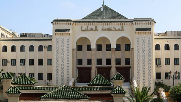 مقر المحكمة العليا في الجزائر في صورة التقطت يوم 13 يونيو حزيران 2019