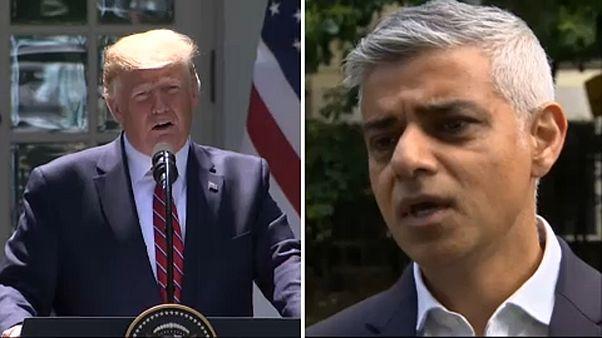 Attaqué par Trump, le maire de Londres refuse de polémiquer