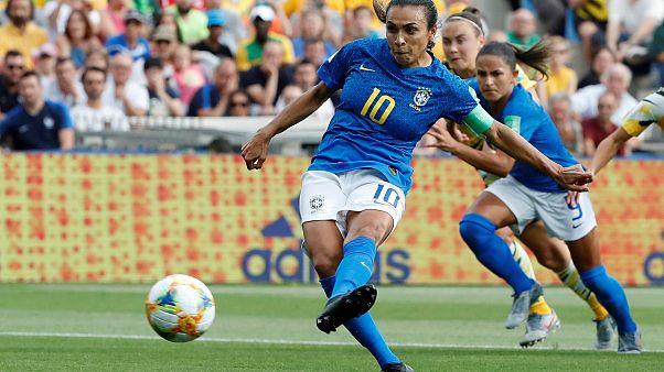 Australia beat Brazil 3-2 despite incredible goal from Marta