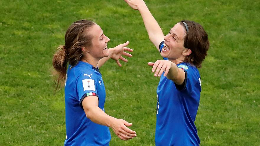 Italy ease into the knockout stages after thrashing Jamaica 5-0
