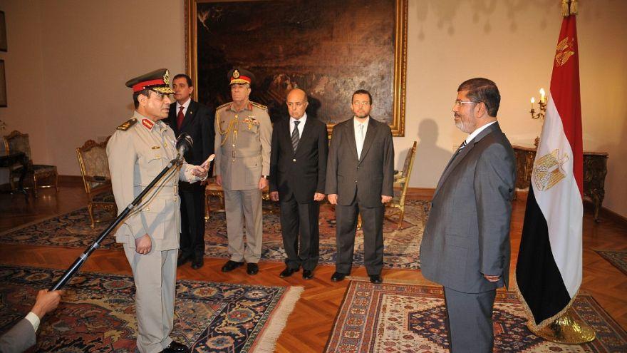 الرئيس السابق محمد مرسي