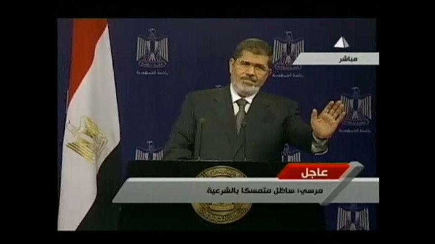 Egypte : décès de l'ancien président Mohammed Morsi