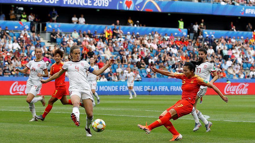 Women's World Cup - Group B - China v Spain - Stade Oceane, Le Havre, France - June 17, 2019