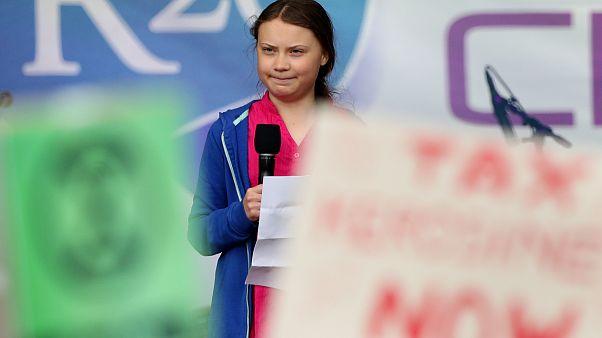 Jetzt sind Ferien, welche Noten und Pläne hat Greta Thunberg (16)?