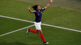 Renard's penalty secures France's place in the round of 16