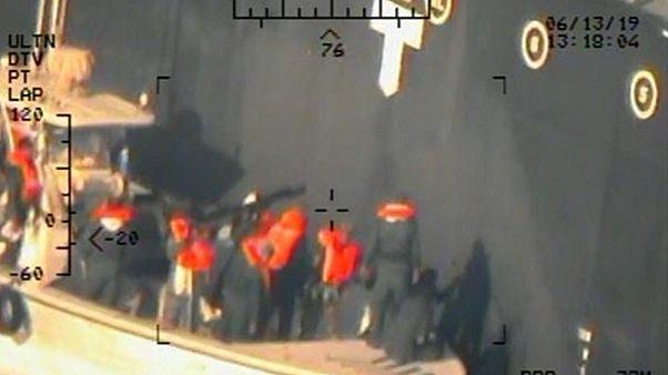 Tartályhajó-támadás: az amerikai haditengerészet új fotói
