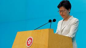 Carrie Lam has faced down mass protests in Hong Kong