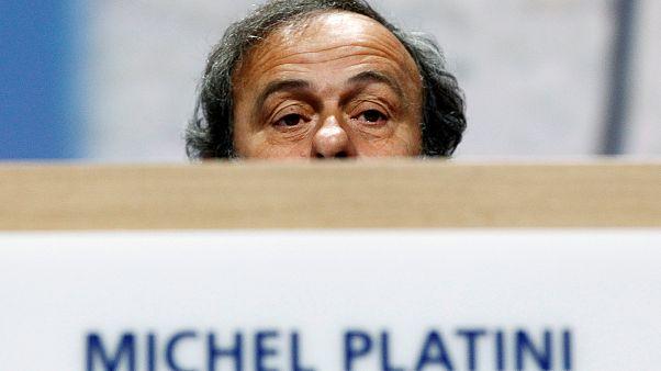 Őrizetbe vették Platinit a katari vb ügyében