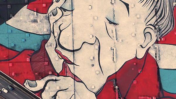 Γαλλία: Το μεγαλύτερο γκράφιτι του κόσμου