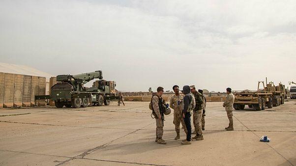 اصابت راکت به پایگاه نظامیان آمریکایی در بغداد