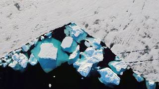 Los casquetes polares de Groenlandia se derriten a una velocidad récord