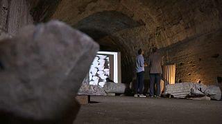 Látogatható Caracalla termáinak alagútrendszere