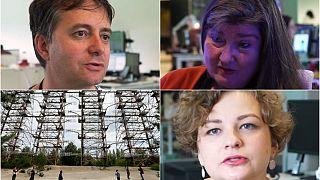 Gazeteciler orman yangınlarıyla gündeme gelen Çernobil felaketine dair anılarını anlattı