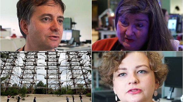 Video | Gazeteciler HBO dizisiyle gündem olan Çernobil felaketine dair anılarını anlattı