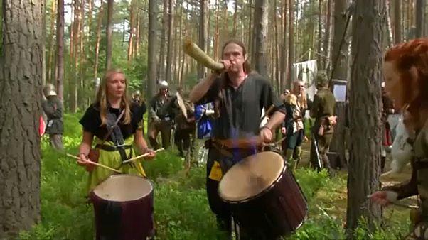 بازسازی جنگ «هابیت» در جنگل جمهوری چک