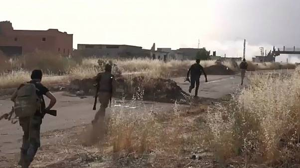 درگیری نظامیان با شورشیان در شمال غرب سوریه