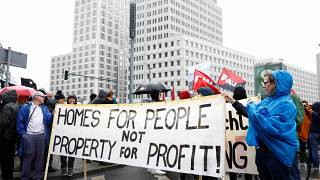 Berlin city council has proposed a five year ban on rent hikes