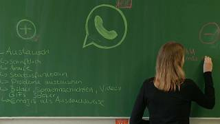 Germany turns to teenagers in bid to teach children about digital stress