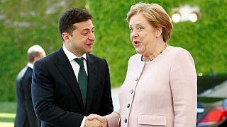 مرکل: تحریمهای روسیه تنها درصورت بازگشت حق حاکمیت اوکراین لغو می شوند