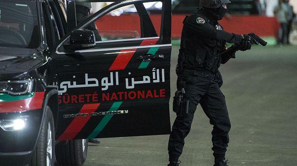 أحد أفراد فرقة التدخل السريع في الأمن الوطني المغربي