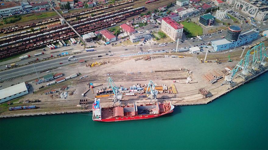 La nouvelle dimension internationale du port de Batoumi en Géorgie