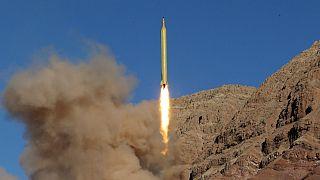 موشک بالستیک از نقطه ای نامعلوم در ایران شلیک می شود