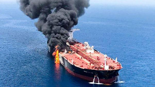آلمان: شواهد قوی وجود دارد که ایران پشت حمله به نفتکشهاست